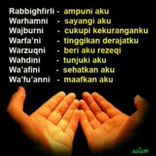 doa diantara dua sujud